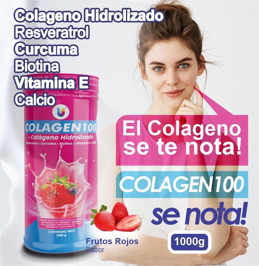 Colagen100 (Colageno Hidrolizado 1kg)